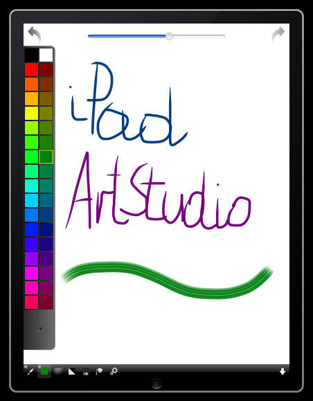 ArtStudio on the iPad